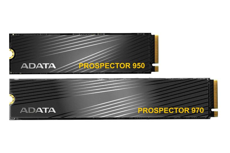 威剛科技推出奇亞幣需求主打 ADATA PROSPECTOR 970 與 ADATA PROSPECTOR 950 固態硬碟