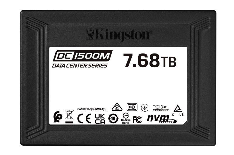 金士頓推出DC1500M資料中心專用U.2 NVMe SSD固態硬碟