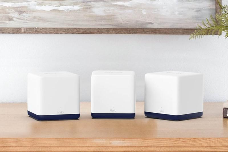 水星網路推出 MERCUSYS Halo H50G 支援 Mesh Wi-Fi 5 與 3 埠 1GbE 網路,3入組不到3000元