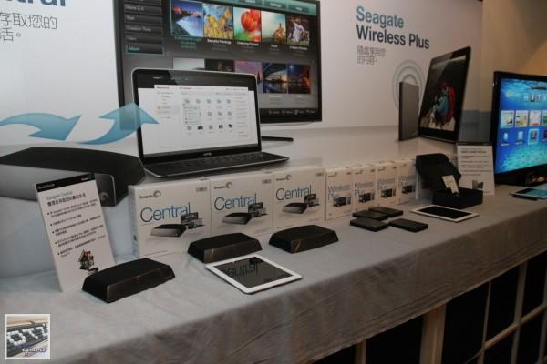 Seagate Wireless Plus、Seagate Central 部落客 玩家 發表聚會,新一代無線硬碟方案