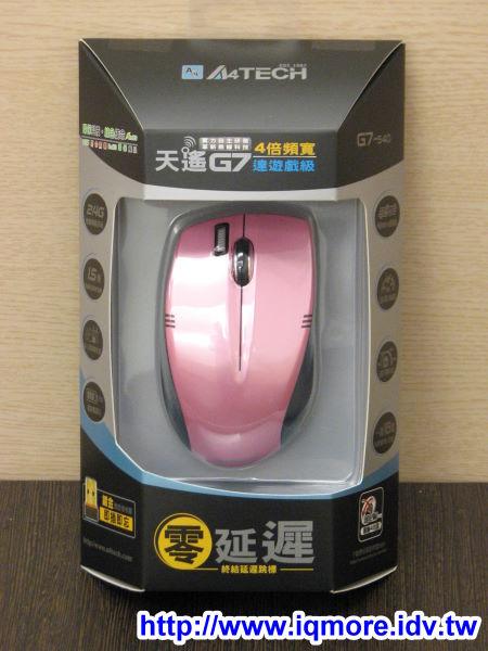 雙飛燕(A4TECH) 無線滑鼠G7-540評測