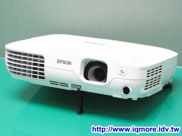Epson EB-X8 進階商用投影機評測