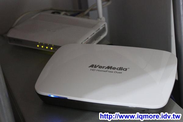 AVerMedia (圓剛) HD數位電視分享盒 HomeFree F200 評測