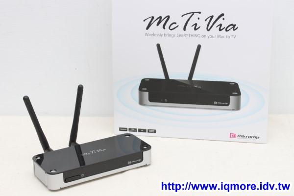 AWIND McTiVia 麥克TV 評測,電腦畫面無線傳輸到支援HDMI介面的電視顯示