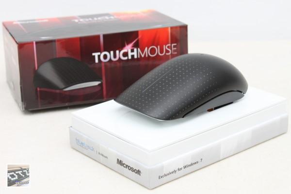 Microsoft Touch Mouse 微軟多點觸控無線滑鼠 評測,Windows 7 專用觸控鼠