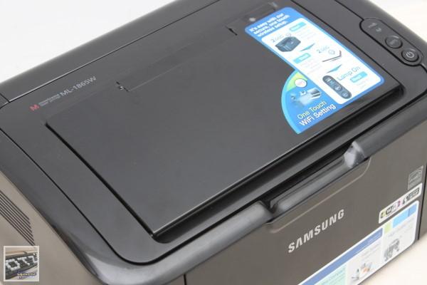 Samsung ML-1865W 無線黑白雷射印表機 評測,支援802.11n無線網路Wi-Fi連線