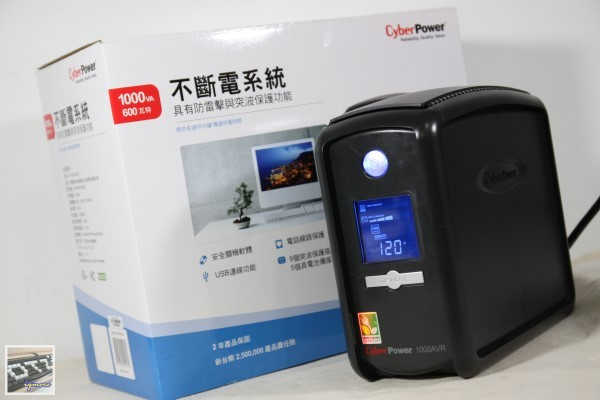 CyberPower CP1000AVRLCD UPS 不斷電系統 評測,在線互動式UPS