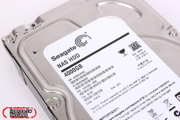 Seagate NAS HDD 4TB 3.5吋硬碟 評測,NAS專用硬碟