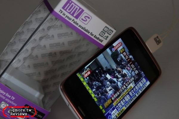 OEO Design iDTVS 行動數位電視接收器 評測,支援 Android 系統