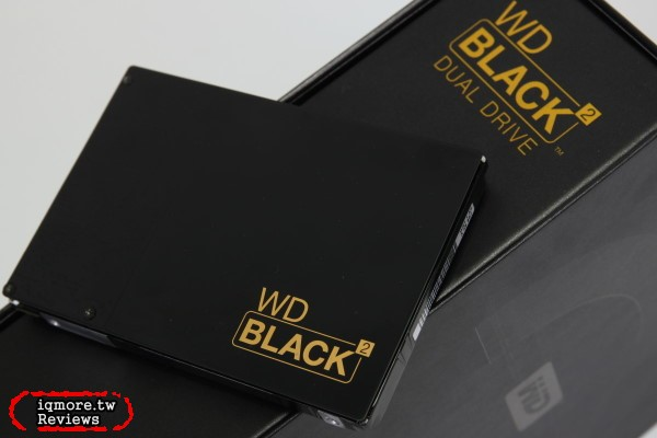 WD Black2 Dual Drive 可攜式 2.5 吋雙硬碟 評測,120GB SSD配上1TB儲存空間