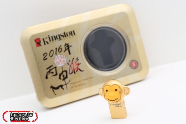 Kingston 金士頓 金猴隨身碟 (DTCNY16/32GB) 評測,猴年立體造型帶著走