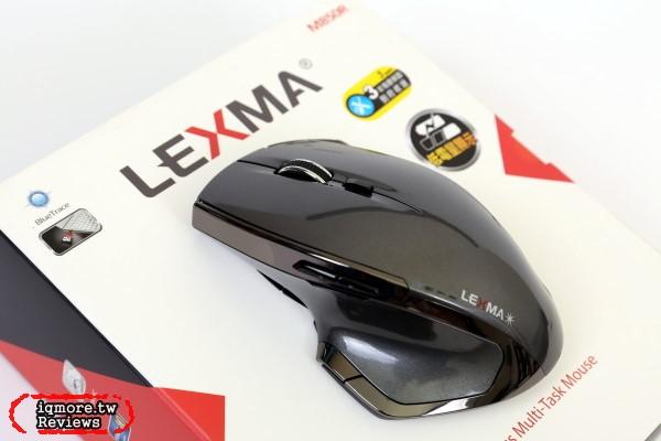 LEXMA M850R 無線藍光滑鼠評測,不到千元擁有3段DPI切換