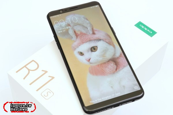 OPPO R11s 評測,螢幕18:9佔比率達85.8%的6.01吋手機