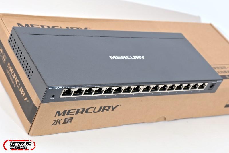 水星 MERCURY SG116DM 16孔千兆交換機
